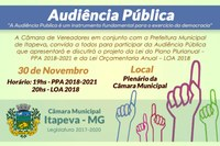 Convite - Audiência Pública