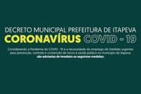 Decreto - Coronavírus COVID-19