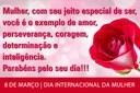 8 de Março - Dia da Mulher